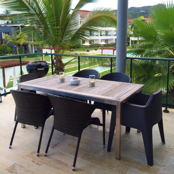 Zona pranzo terrazza
