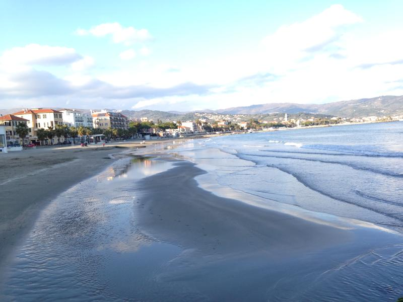 beach at Diano Marina