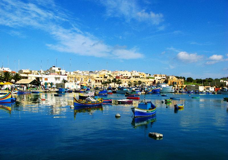 Marsaxlokk and the Sunday market