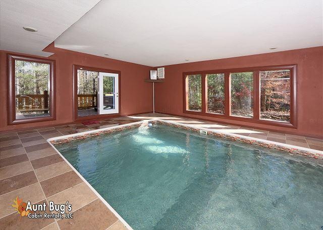 Marvelous 5 Bedroom Smoky Mountain Private Indoor Pool Cabin With Interior Design Ideas Gentotthenellocom