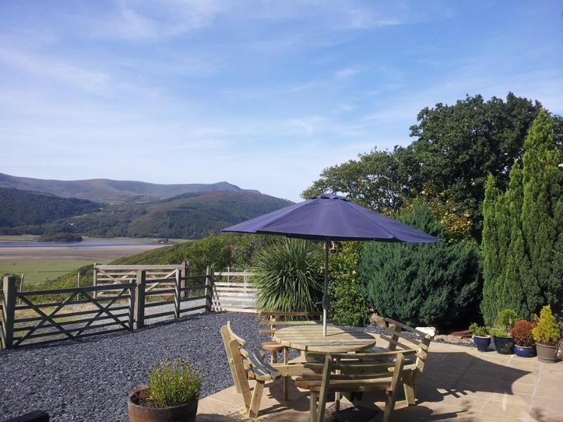 Exceptional views from Pine Cottage terrace, lounge and bedrooms