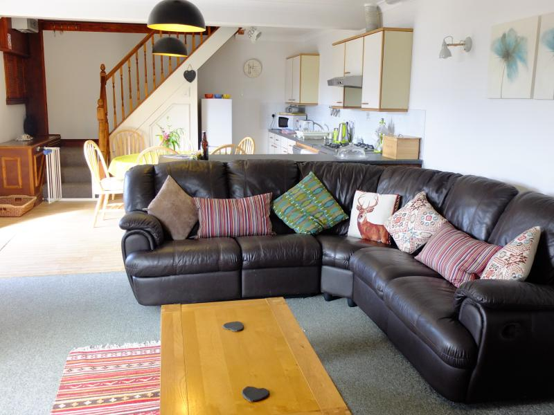 Plenty of space to chill out and plan the days adventures...