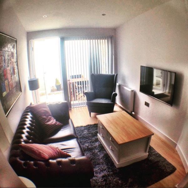 Hermoso piso 1 dormitorio en el corazón de St Andrews. Al lado de donde William conoció a Kate (para el café!)