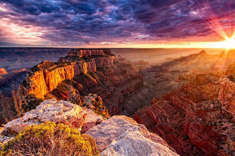 Südkante Grand Canyon liegt 2 Autostunden.
