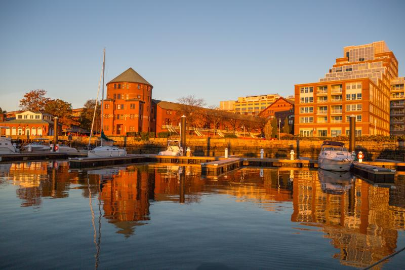 Marina is located in Historic Charlestown