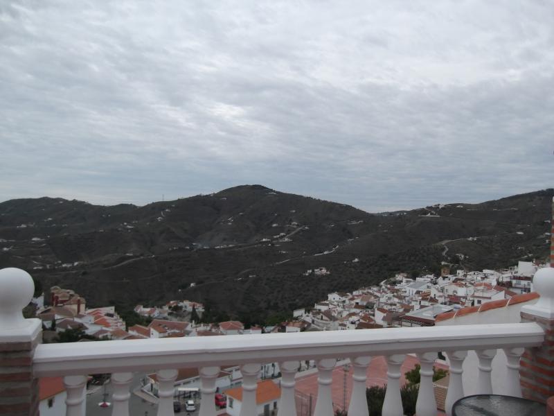 Vistas magníficas do telhado terraço