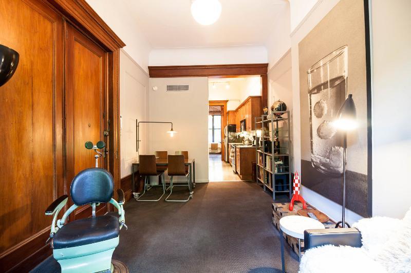 Living Room, facing kitchen.