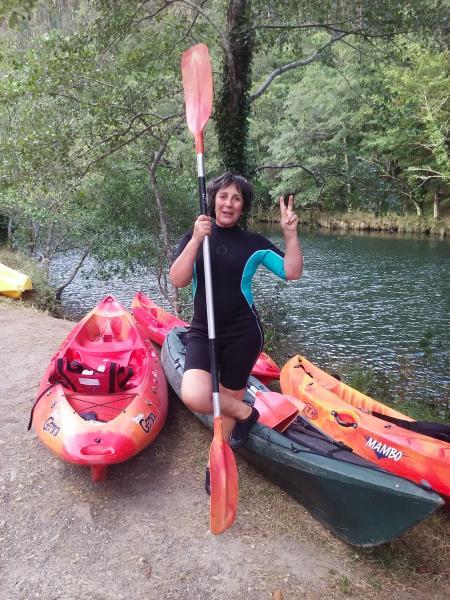 aluguel de canoa Fragas do Eume
