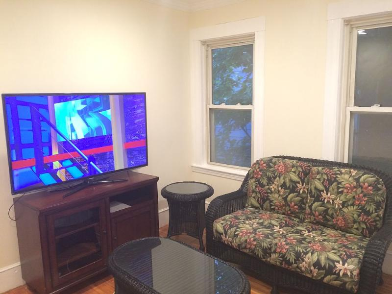 Cable HDTV and High speed wifi internet. Central AV and gas heating.