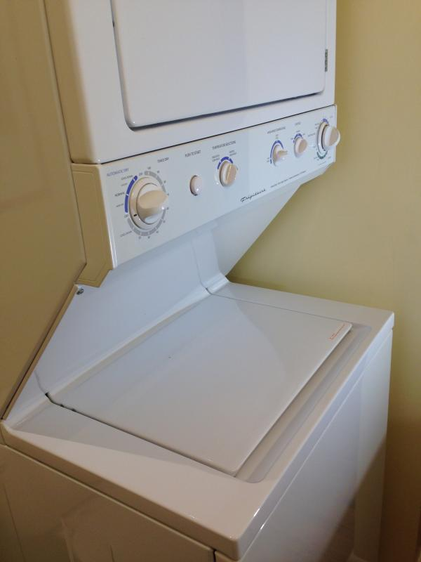 Our washer and dryer make it so easy to keep everyone in clean clothes