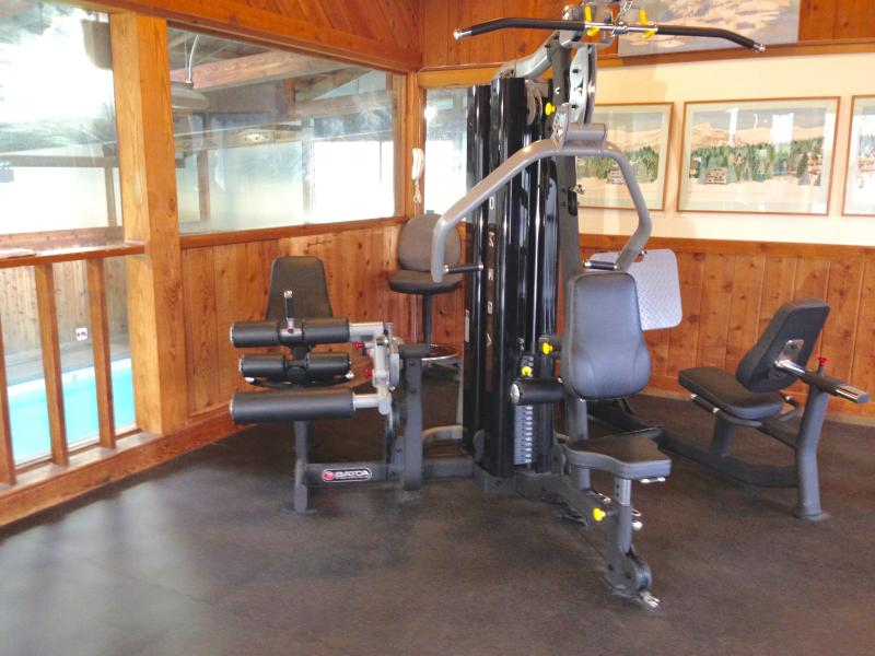 Exercise has state of the art equipment. Hurts to look at it, doesn't it?