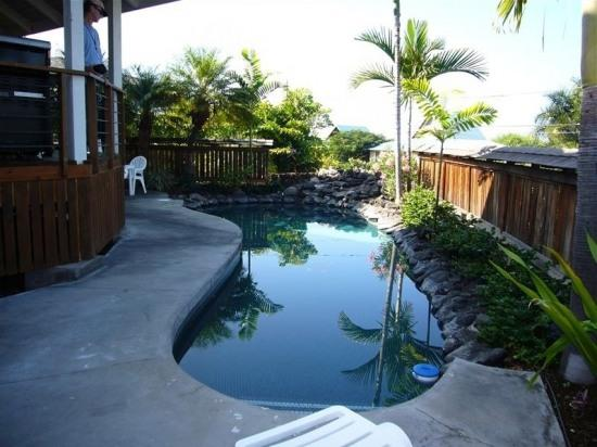 Maluhia Hale- Walk to White Sand Beach! Private Pool!  Ultimate Privacy! - ID, vacation rental in Keauhou