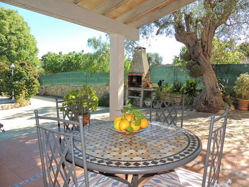 Casa Sa Sini  - Terrace and Barbecue Area