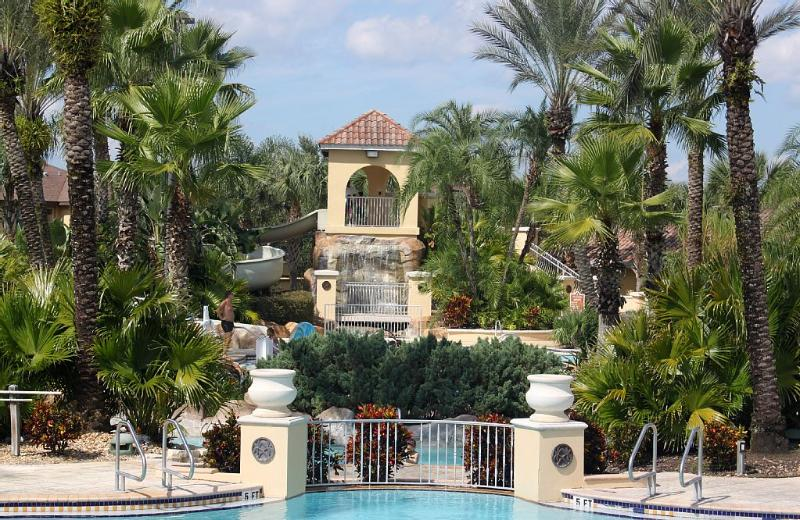 The Regal Palms Water Slide