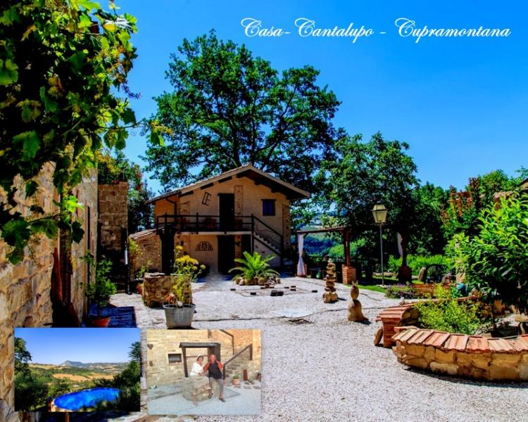 Casa-Cantalupo/Casa Lungo 4 Personen/ Cupramontana, vacation rental in Angeli Stazione