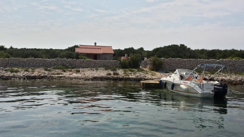 Kornati-Robinson house Gangaro, holiday rental in Kornat Island