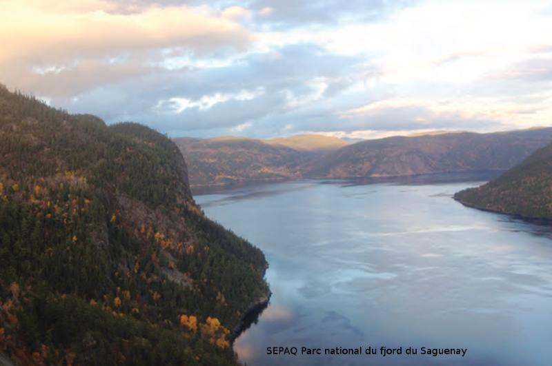 National park of the Saguenay Fjord
