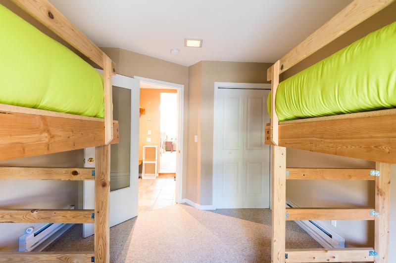 The Main Floor Double Bunk Bedroom