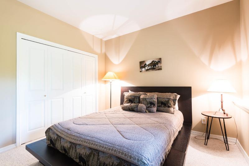 The Downstairs Queen Bedroom