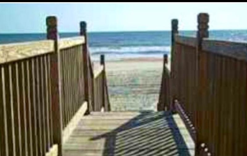Just steps to beach