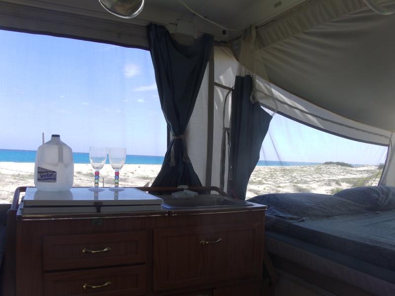 Cabaña Blanca Beach-frigobar