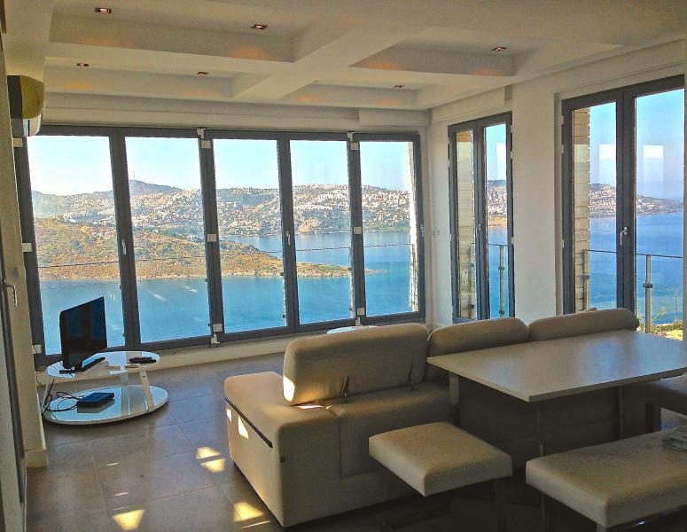 panoramic sea view
