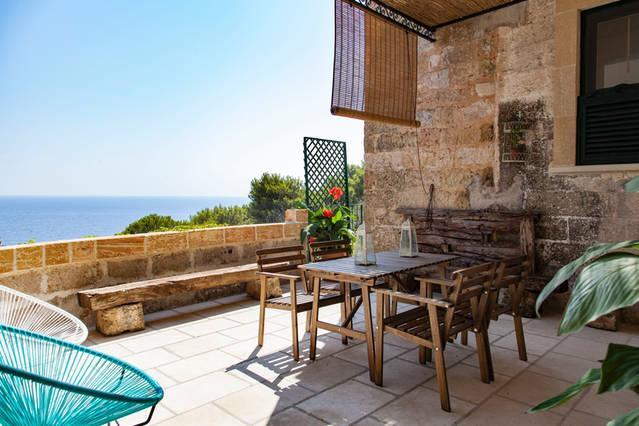 casa nel bosco vista mare, holiday rental in Marina Serra