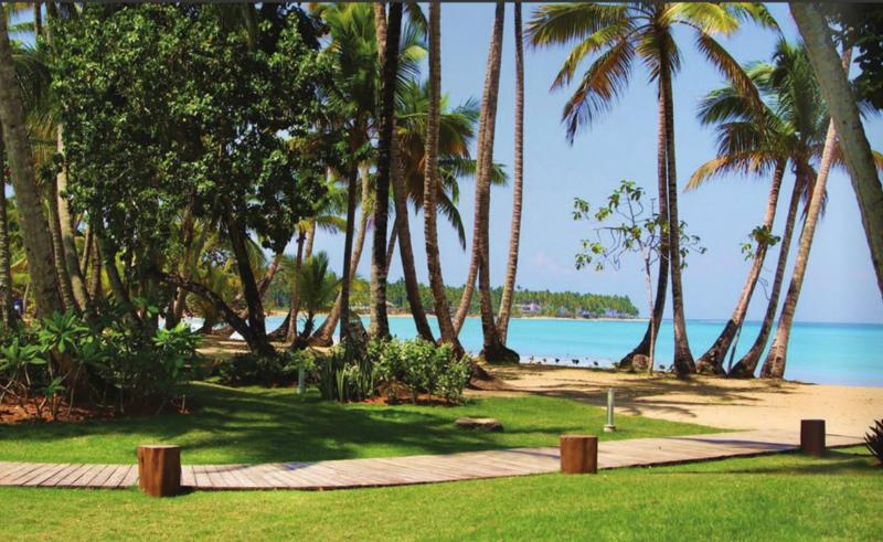 well groomed gardens beachfront and surrounding property.  Exclusively enjoyed for our gated community.