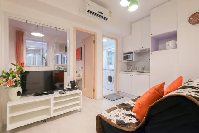 New Reno/1Bdrm/Elements/Austin/Easy access//Kln Cntr/China Ferry Pier, aluguéis de temporada em Shenzhen