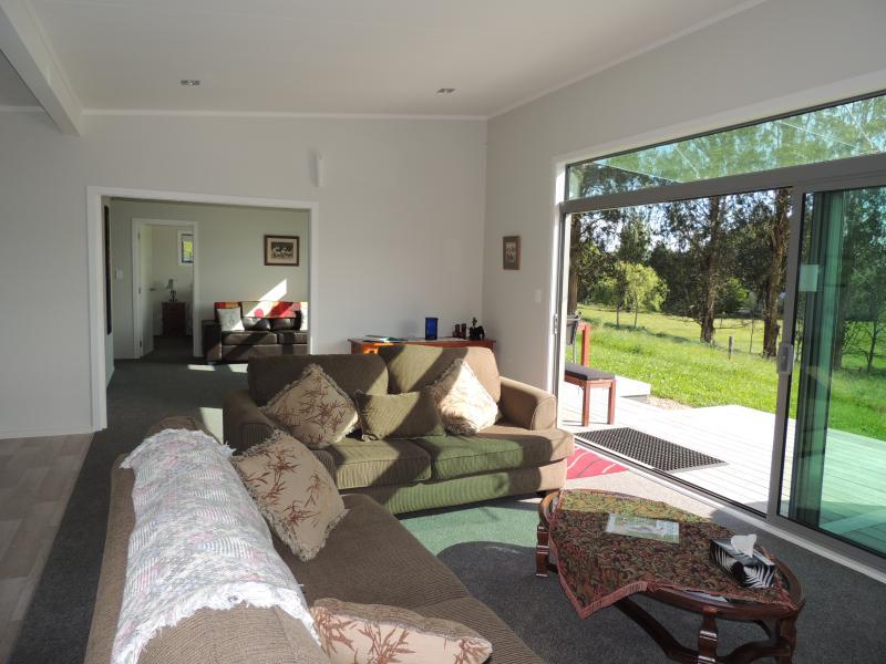 a Comfy lounge