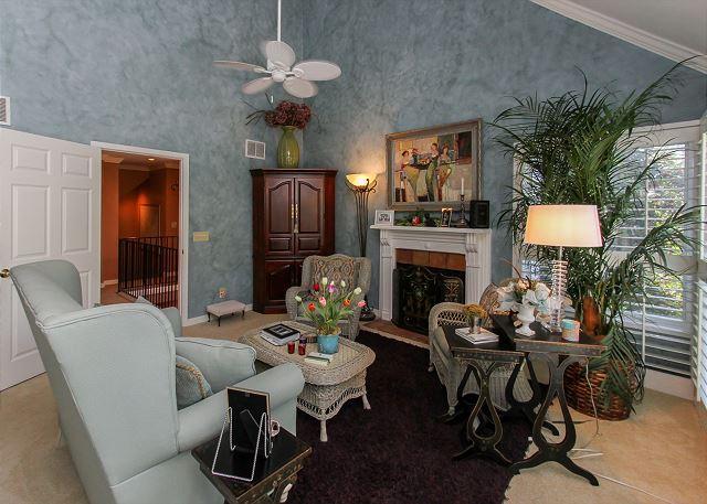 Dormitorio principal en Suite sala de estar