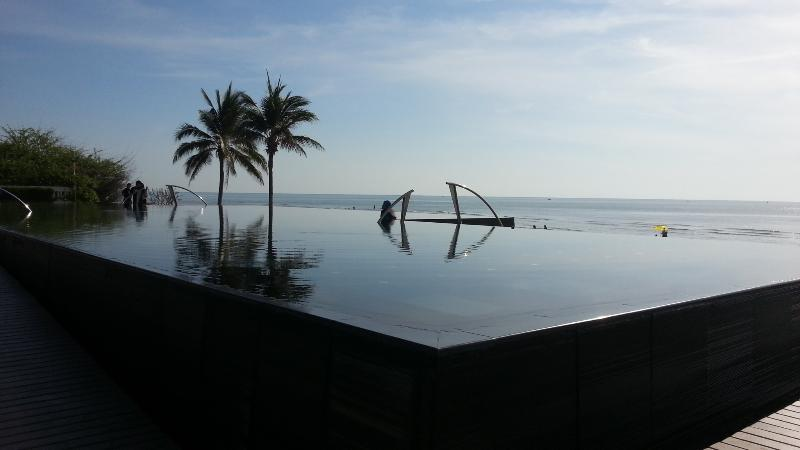 BEACHFRONT INFINITY POOL FOR BLISSFUL RELAXATION