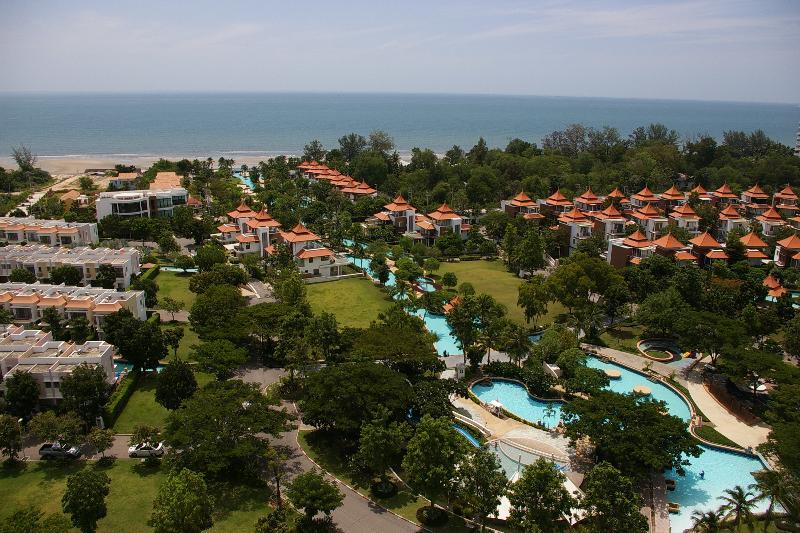 vistas panorámicas al mar desde el balcón