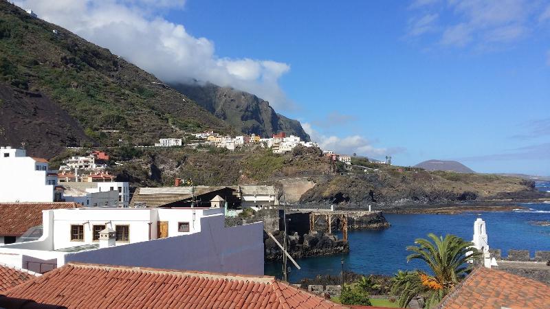 Vistas al mar desde nuestra pequeña terraza.
