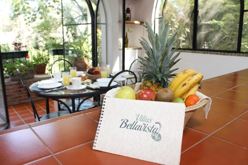 Area del comedor/Dining area