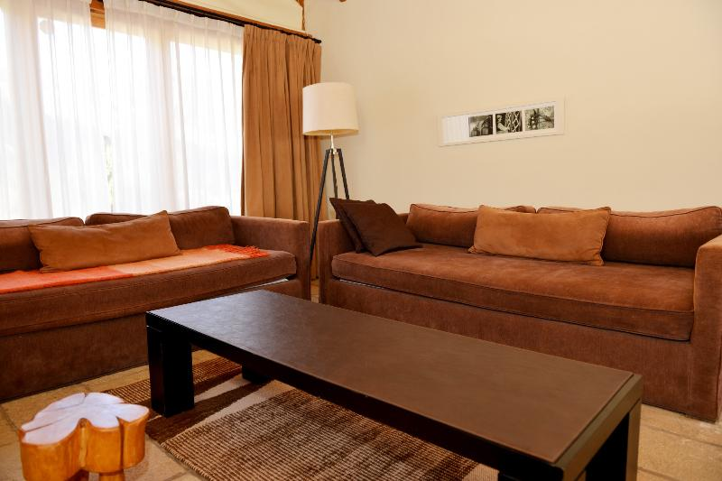 Spacious Living area with 2 sofa beds