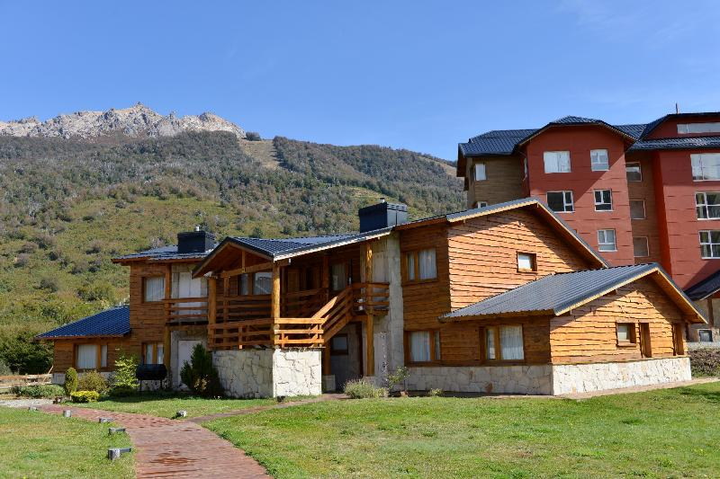 Front of the property.  On the back, Cerro Catedral Mountain