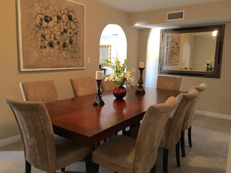 Make memories in this dining room that seats 8