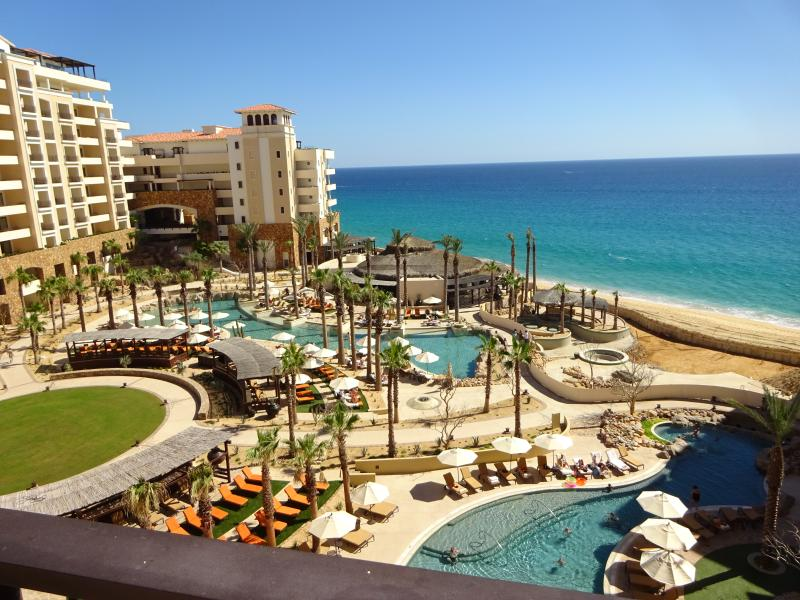 Grand Solmar - two of the 5 pools