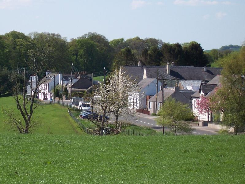 Haugh of Urr village