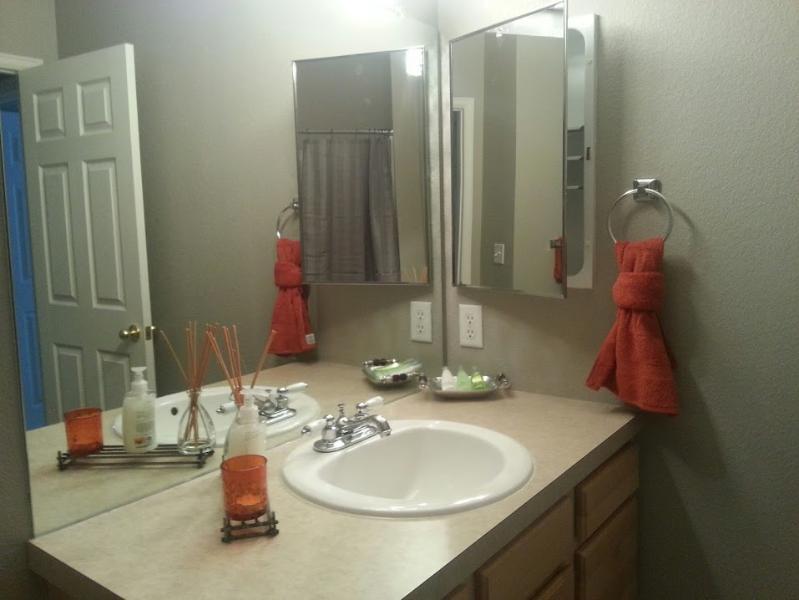 Seconde/chambre bain évier zone