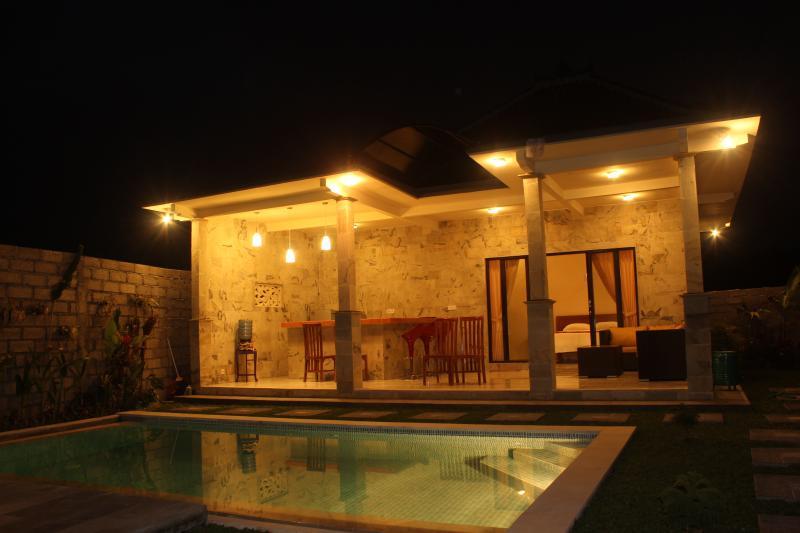 der Stil der Villa von vorne