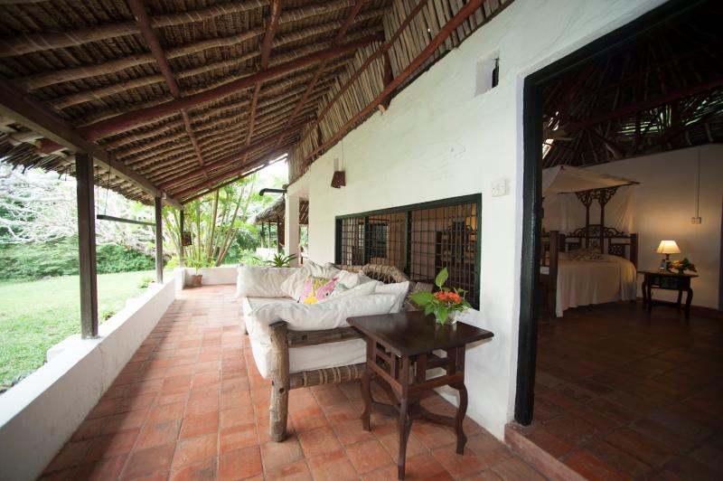 Lounge on veranda