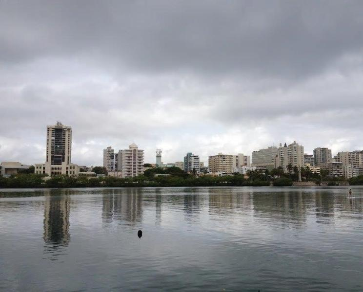 You can rent paddle boards or kayaks in the Condado Lagoon