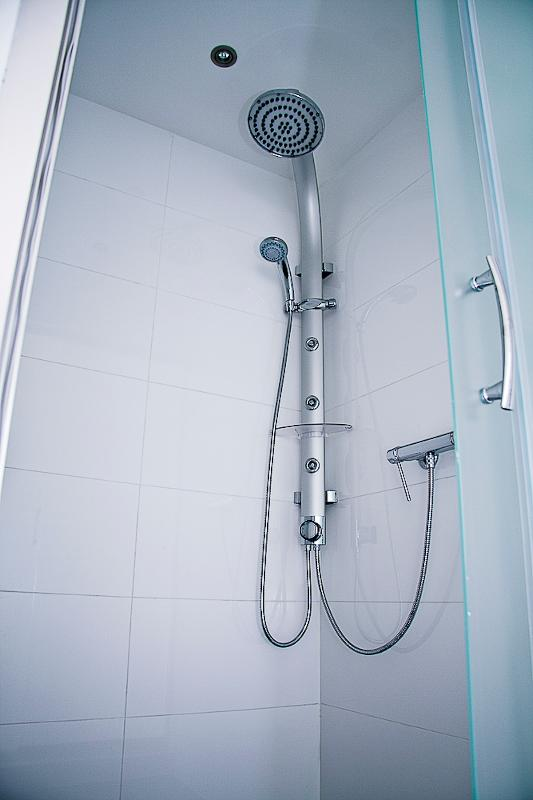 Shower near the masterbedroom
