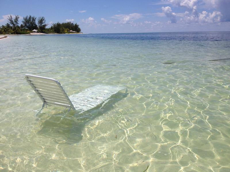 relax in the gorgeous crystal clear water