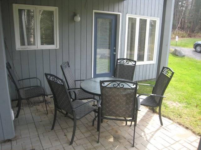 patio off bedroom and living room