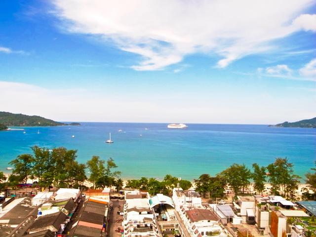 Amazing sea view & incredible location !, holiday rental in Patong