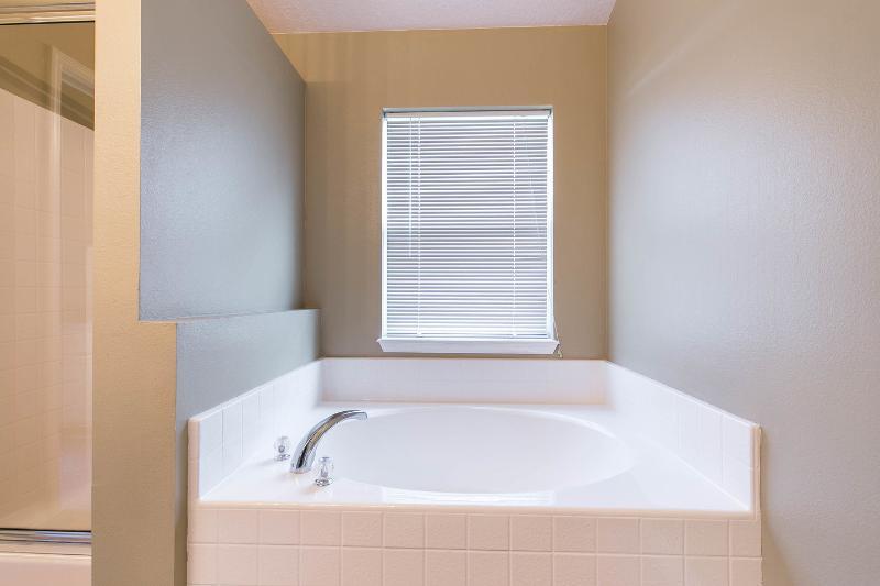 First Bathroom - Tub