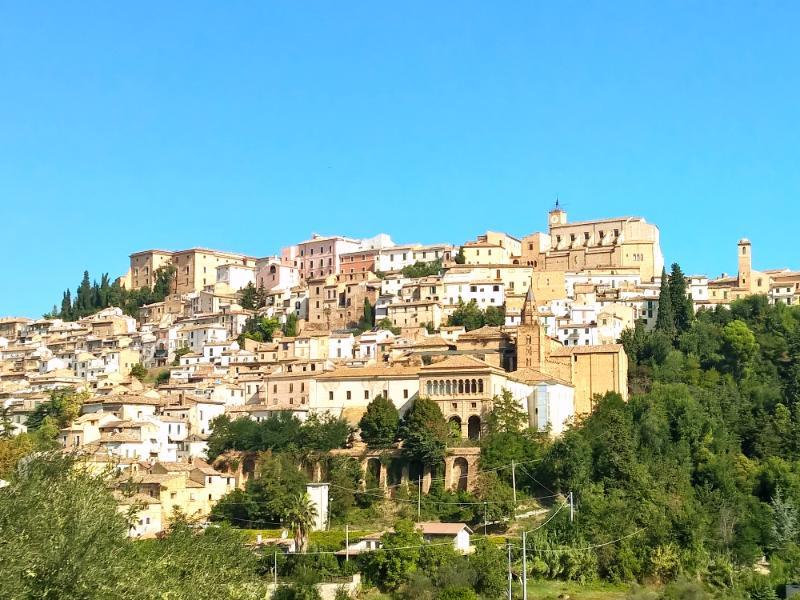 Loreto Aprutino - one of the impressive hill top towns, close to Casa Bianca.